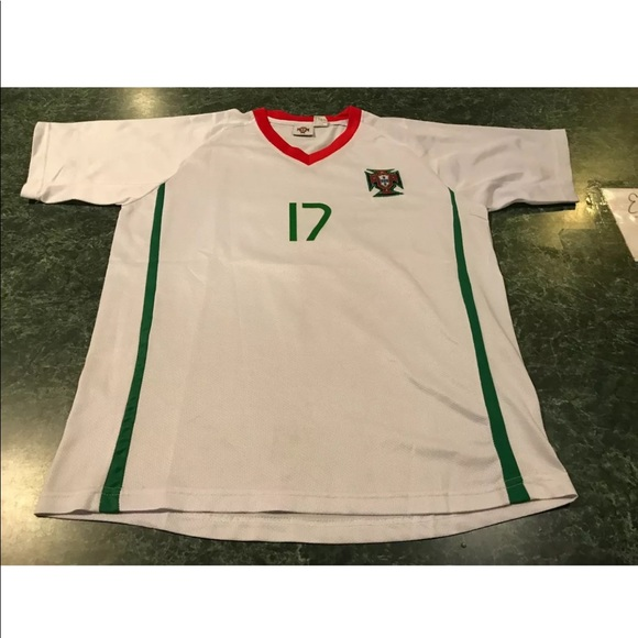 on sale 8a98c 12fb0 Cristiano Ronaldo #17 Portugal Jersey YOUTH Large